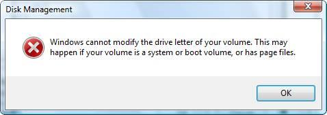 how to change your drive letter