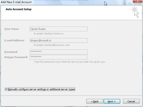 How To Setup An E Mail Account In Outlook 2007 Windows