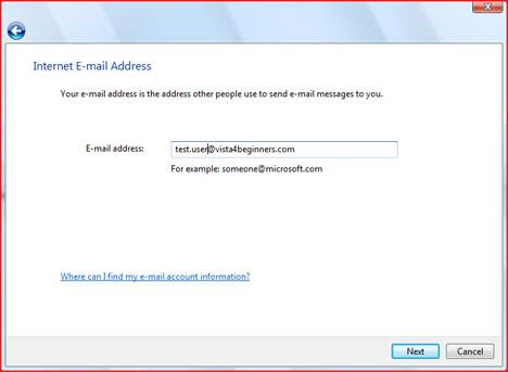 Windows Mail Wizard