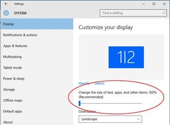 How To Change The Font Size In Windows Windows Tutorials