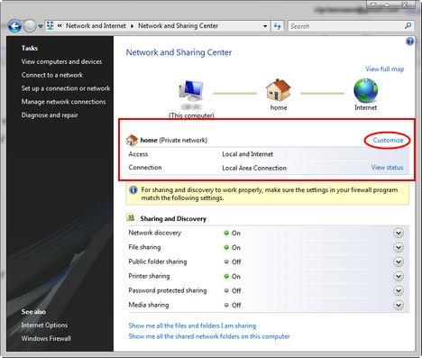 How to enable network discovery and file sharing - Windows