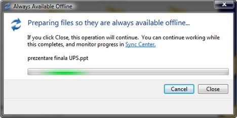 Offline Files