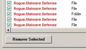 Remove detected malware