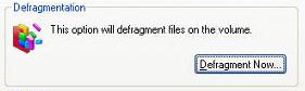 Defragment Hard Drive Windows