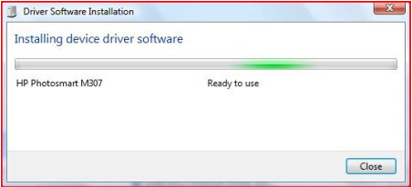 Driver Software installation
